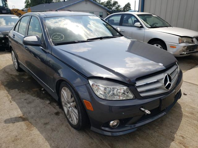Salvage cars for sale from Copart Sikeston, MO: 2009 Mercedes-Benz C 300 4matic