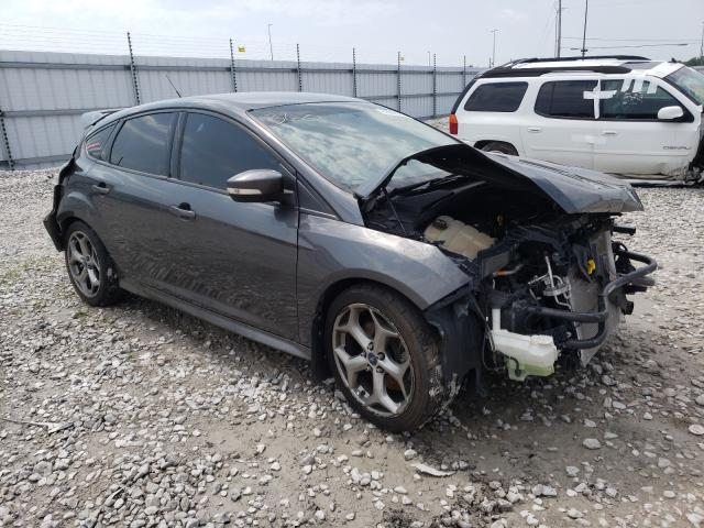Salvage cars for sale from Copart Alorton, IL: 2017 Ford Focus ST