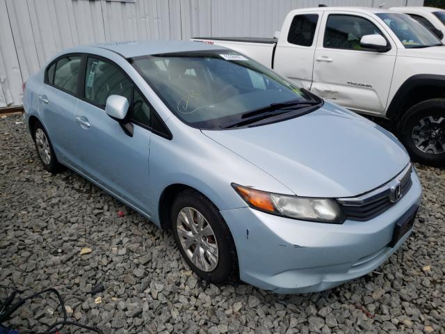 Flood-damaged cars for sale at auction: 2012 Honda Civic LX