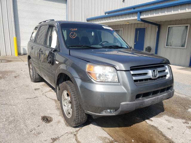 Salvage cars for sale at Hurricane, WV auction: 2008 Honda Pilot SE
