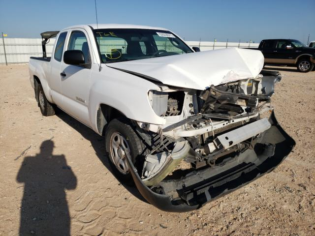 Salvage cars for sale from Copart Andrews, TX: 2007 Toyota Tacoma ACC