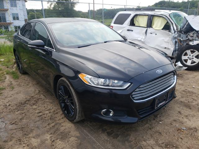 Salvage cars for sale from Copart Madison, WI: 2014 Ford Fusion SE