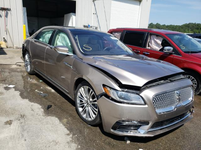 Lincoln Vehiculos salvage en venta: 2018 Lincoln Continental