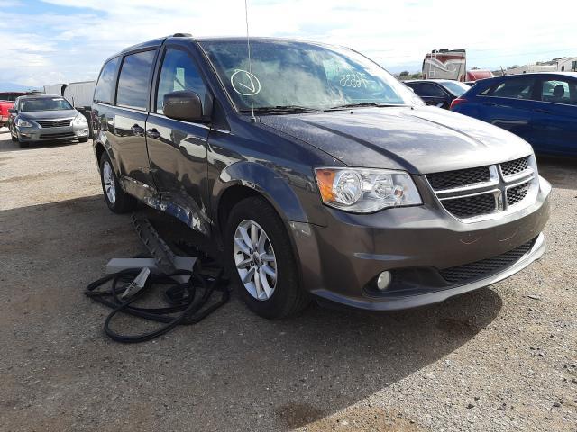 Salvage cars for sale at Tucson, AZ auction: 2018 Dodge Grand Caravan