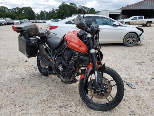 Salvage cars for sale from Copart Greenwell Springs, LA: 2016 Triumph Tiger