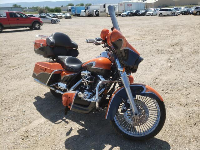 Salvage cars for sale from Copart Casper, WY: 2008 Harley-Davidson Flhx