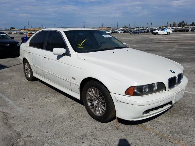 Salvage cars for sale from Copart Sun Valley, CA: 2003 BMW 5 Series