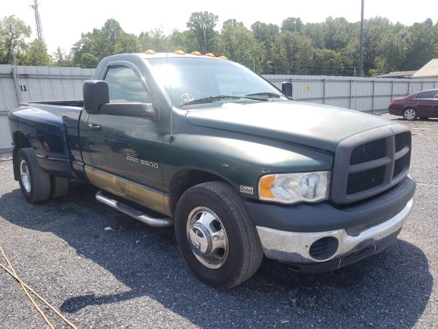 Salvage trucks for sale at York Haven, PA auction: 2004 Dodge RAM 3500 S