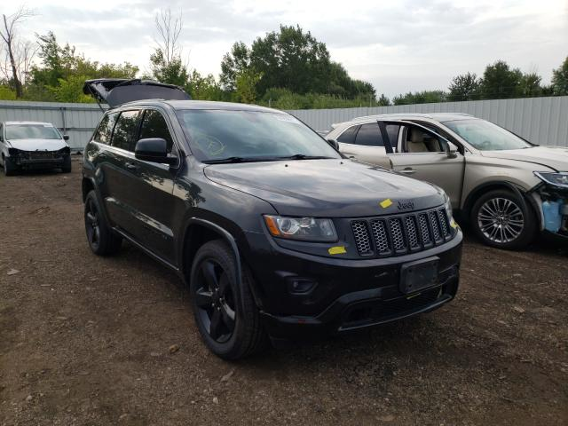 Salvage cars for sale at Columbia Station, OH auction: 2015 Jeep Grand Cherokee