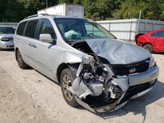 Salvage cars for sale from Copart Midway, FL: 2014 KIA Sedona EX