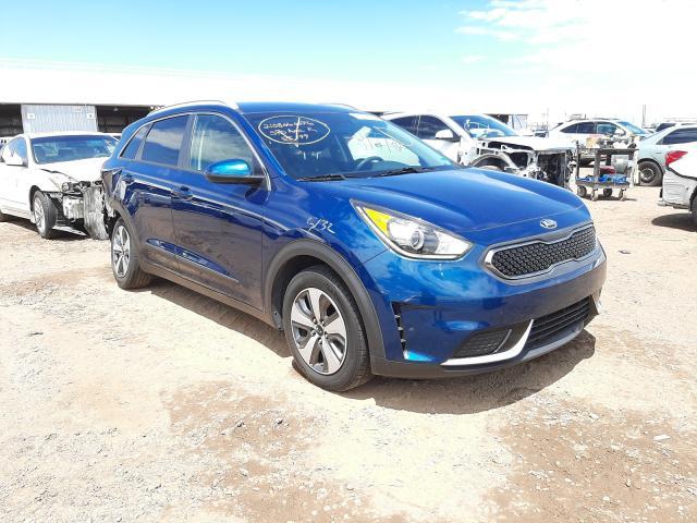 Salvage cars for sale from Copart Phoenix, AZ: 2018 KIA Niro FE