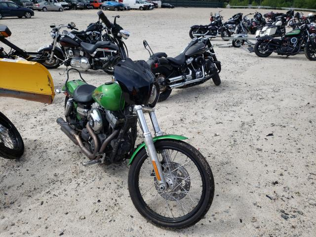 Salvage motorcycles for sale at Candia, NH auction: 2015 Harley-Davidson Fxdwg Dyna