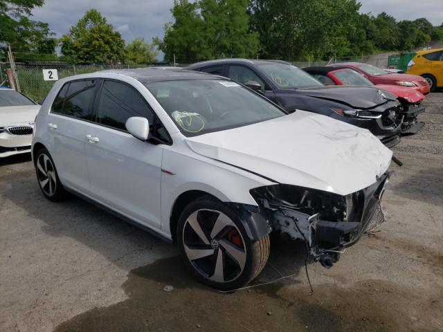 Salvage cars for sale from Copart Marlboro, NY: 2019 Volkswagen GTI S