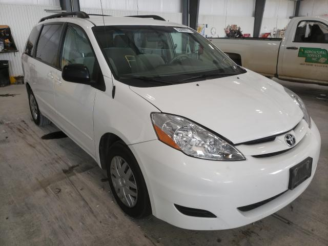 Salvage cars for sale at Greenwood, NE auction: 2007 Toyota Sienna CE
