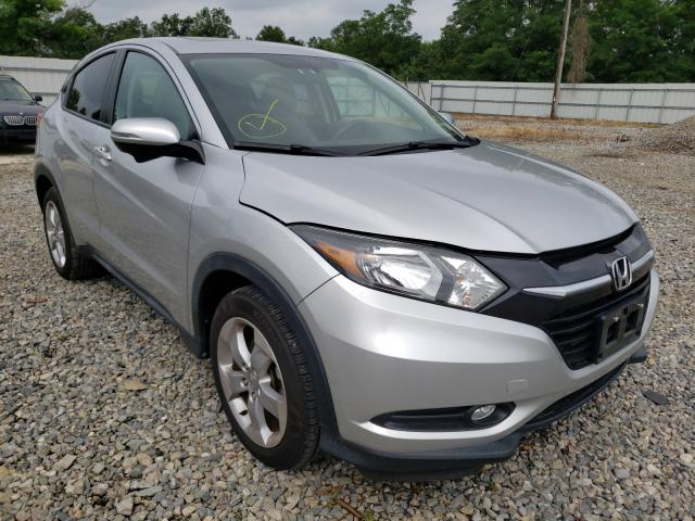 Salvage cars for sale from Copart Grantville, PA: 2016 Honda HR-V EX