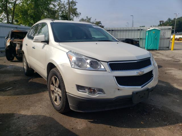 Salvage cars for sale from Copart West Mifflin, PA: 2012 Chevrolet Traverse L