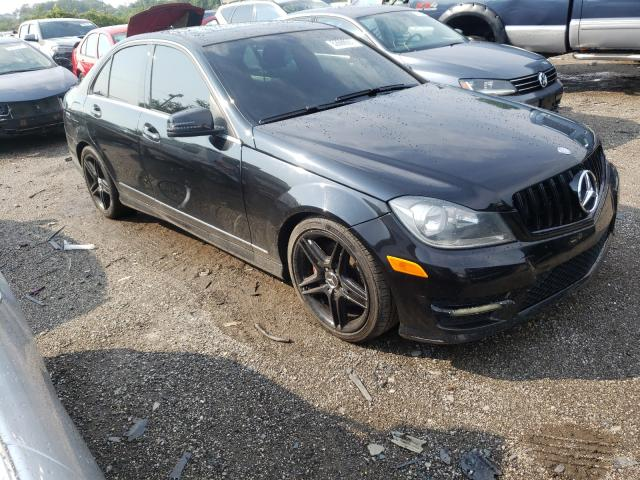 Salvage cars for sale from Copart Baltimore, MD: 2013 Mercedes-Benz C 300 4matic