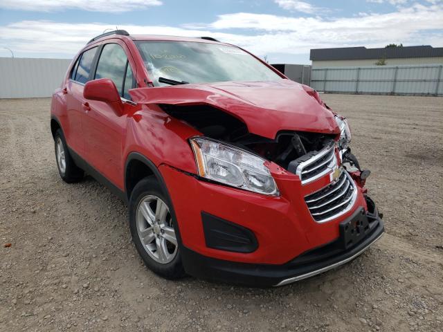 Vehiculos salvage en venta de Copart Bismarck, ND: 2015 Chevrolet Trax 1LT