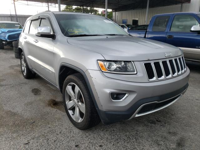 Salvage cars for sale from Copart Orlando, FL: 2015 Jeep Grand Cherokee