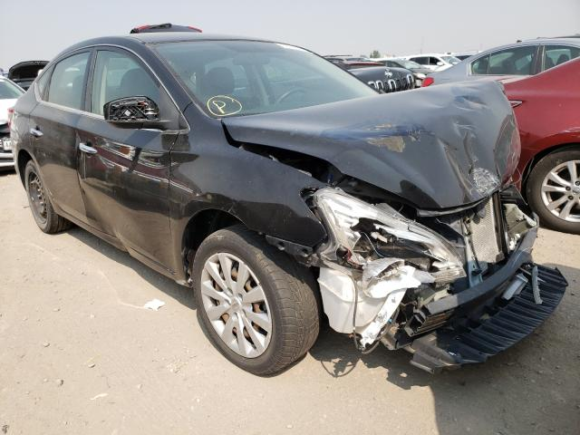 Salvage cars for sale from Copart Denver, CO: 2015 Nissan Sentra