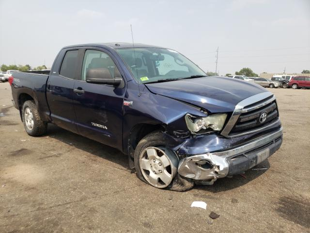 Salvage cars for sale from Copart Denver, CO: 2010 Toyota Tundra DOU