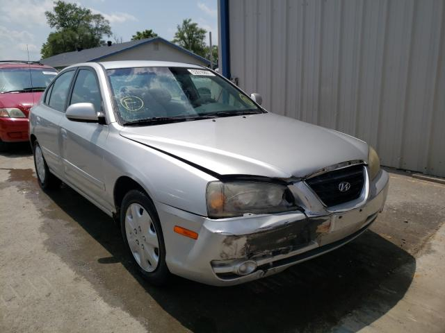 Salvage cars for sale from Copart Sikeston, MO: 2005 Hyundai Elantra GL