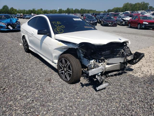 Salvage cars for sale from Copart Fredericksburg, VA: 2015 Mercedes-Benz C 250
