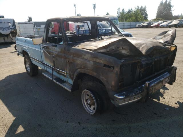 Salvage cars for sale from Copart Woodburn, OR: 1981 Ford F250