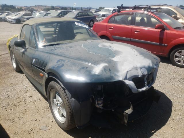 Salvage cars for sale from Copart San Martin, CA: 1998 BMW Z3 1.9