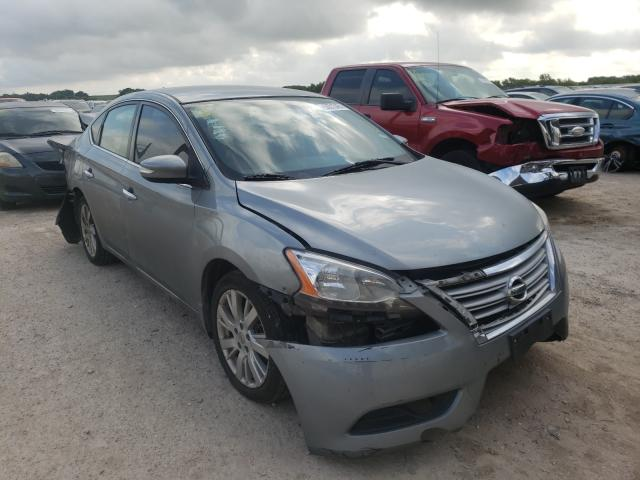Salvage cars for sale at Temple, TX auction: 2013 Nissan Sentra S