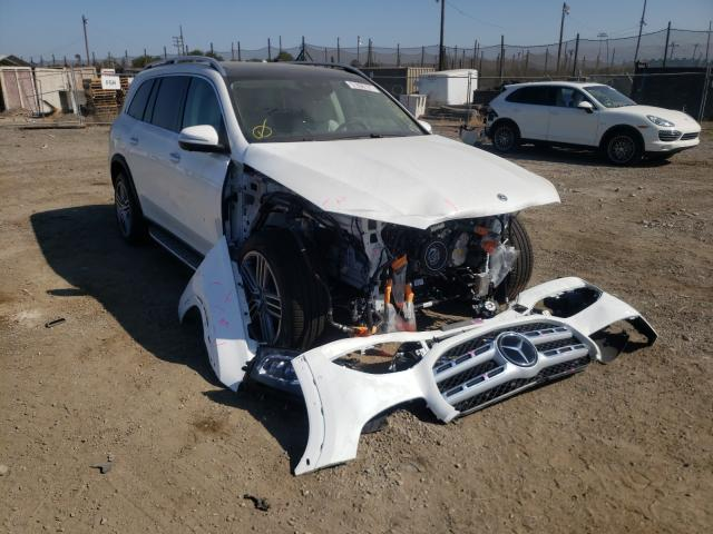 Salvage cars for sale from Copart San Martin, CA: 2021 Mercedes-Benz GLS 450 4M
