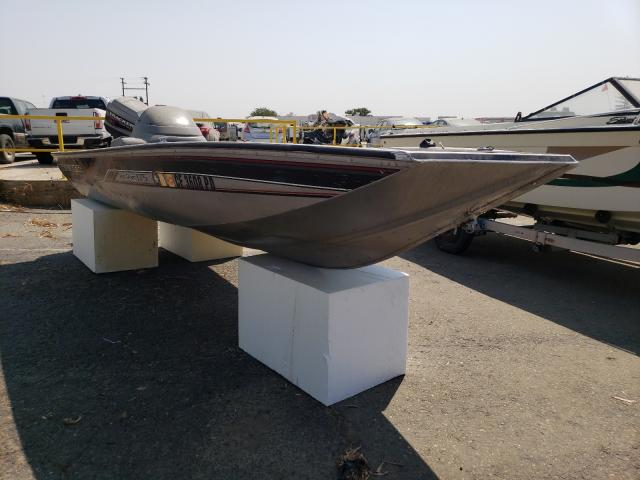 Salvage boats for sale at Sacramento, CA auction: 1998 Tracker PRO Team 1