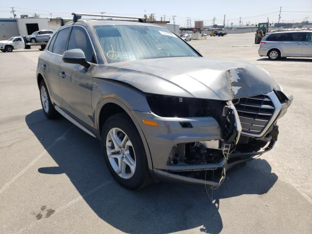 Salvage cars for sale from Copart Sun Valley, CA: 2019 Audi Q5 Premium