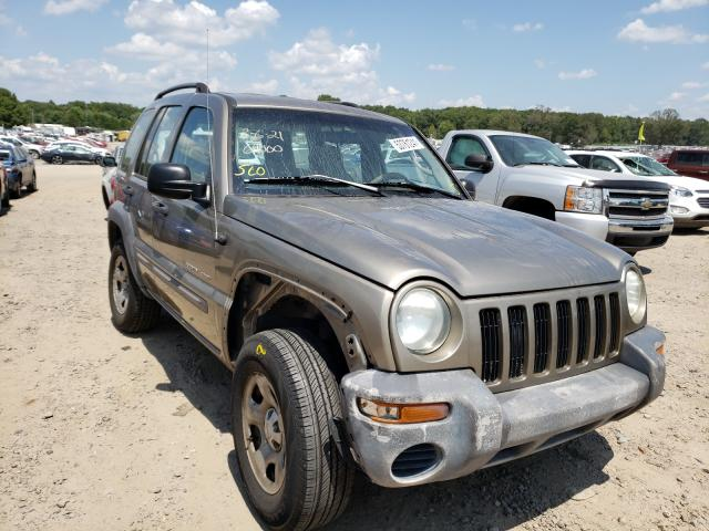 Salvage cars for sale at Conway, AR auction: 2003 Jeep Liberty SP