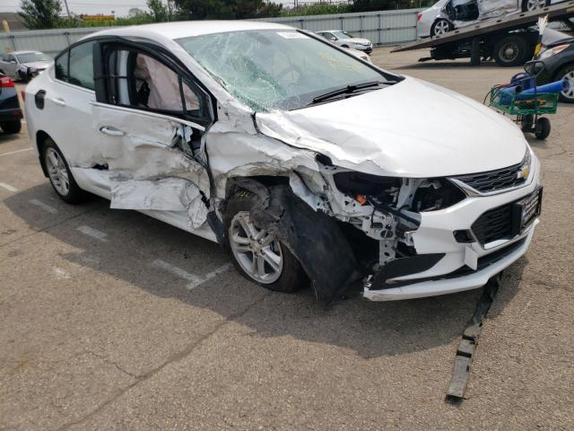 Salvage cars for sale from Copart Moraine, OH: 2017 Chevrolet Cruze LT