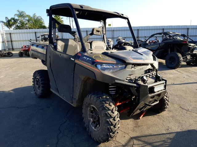 Salvage cars for sale from Copart Fresno, CA: 2018 Polaris Ranger XP