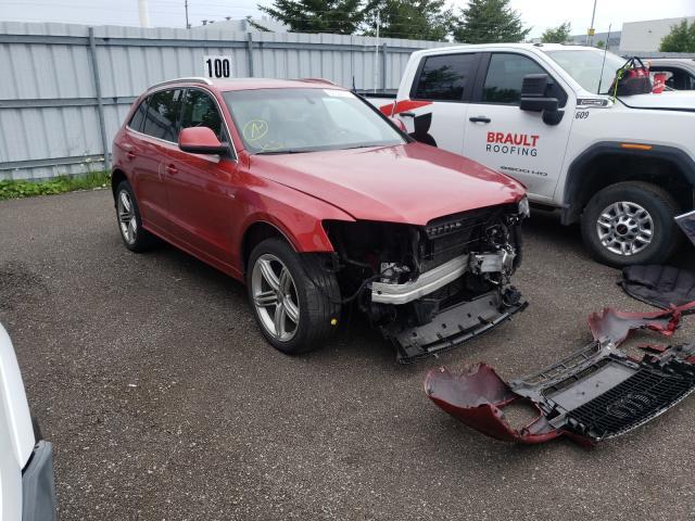 Salvage cars for sale at Bowmanville, ON auction: 2010 Audi Q5 Premium