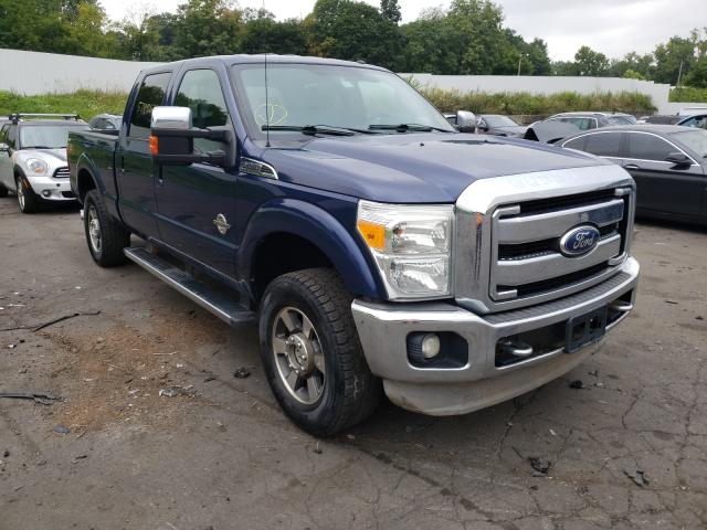 Salvage cars for sale from Copart Marlboro, NY: 2011 Ford F250 Super