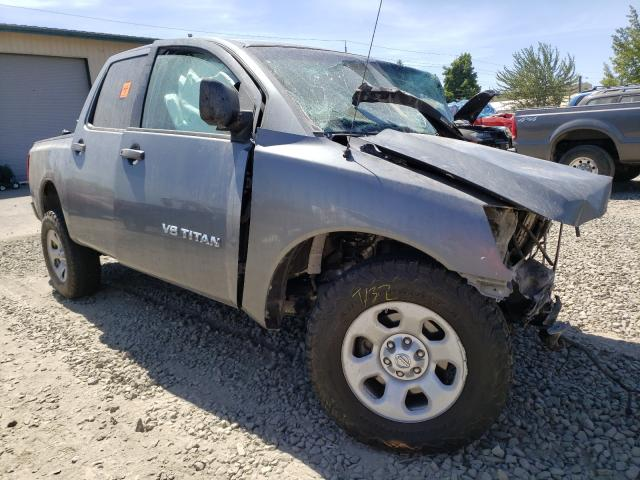 Salvage cars for sale from Copart Eugene, OR: 2014 Nissan Titan S