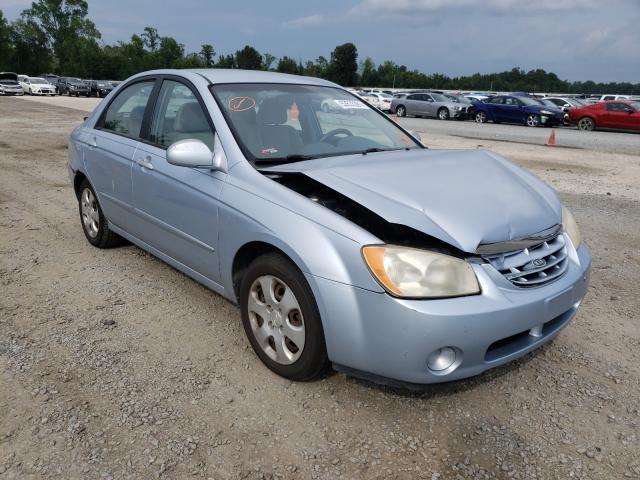 KIA Spectra salvage cars for sale: 2006 KIA Spectra