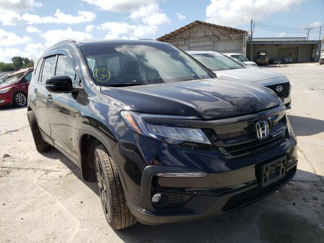 Salvage cars for sale from Copart Corpus Christi, TX: 2020 Honda Pilot Blac