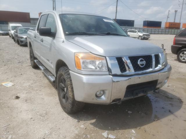 Salvage cars for sale from Copart Columbus, OH: 2011 Nissan Titan S