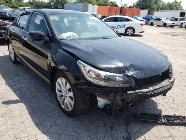 Salvage cars for sale at Bridgeton, MO auction: 2014 Honda Accord EX