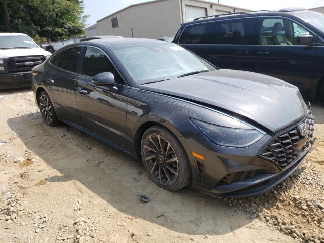 Salvage cars for sale from Copart Gainesville, GA: 2021 Hyundai Sonata LIM