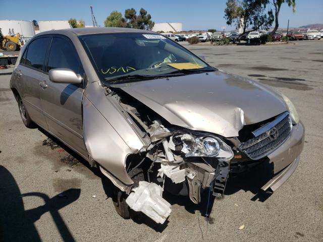 Salvage cars for sale from Copart Martinez, CA: 2005 Toyota Corolla CE