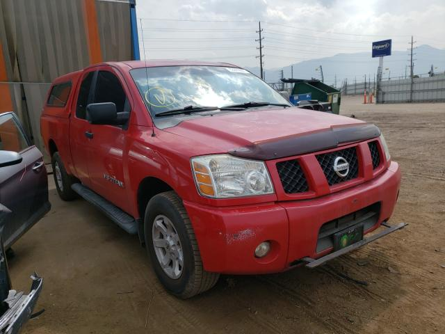 Salvage cars for sale from Copart Colorado Springs, CO: 2007 Nissan Titan XE