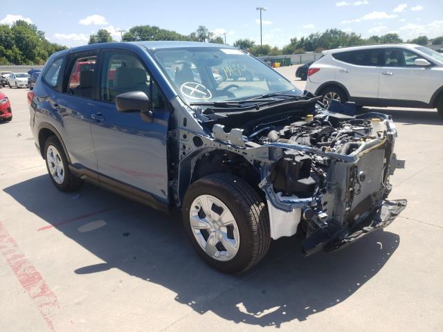 Vehiculos salvage en venta de Copart Wilmer, TX: 2021 Subaru Forester