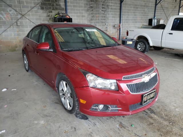 Vehiculos salvage en venta de Copart Cartersville, GA: 2014 Chevrolet Cruze LTZ