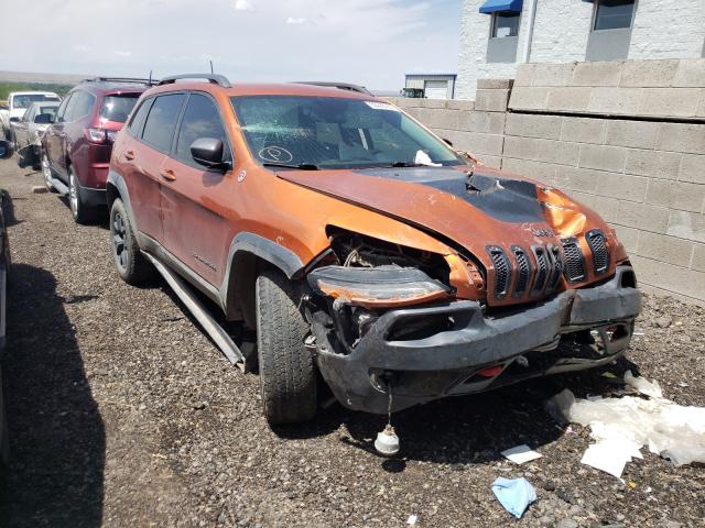 Jeep salvage cars for sale: 2016 Jeep Cherokee T