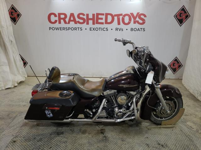 Salvage cars for sale from Copart Columbia, MO: 2006 Harley-Davidson Flhxi